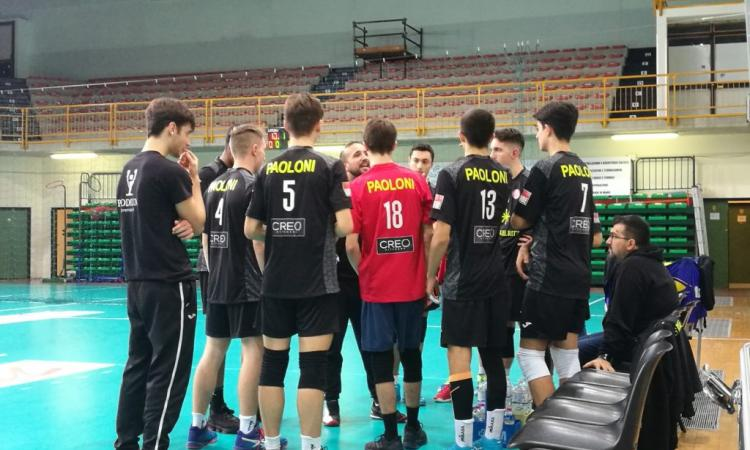 Serie D: il Volley Macerata si arrende in quattro set contro Sassoferrato