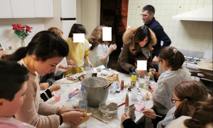 Loro Piceno, grande successo per l'iniziativa Natale al Castello Brunforte