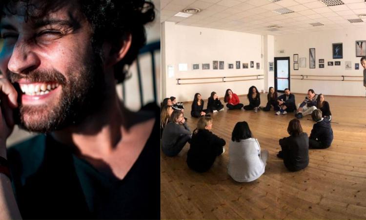 """Macerata, Simone Riccioni: """"Una palestra per attori"""", via alla prima lezione della scuola di recitazione"""