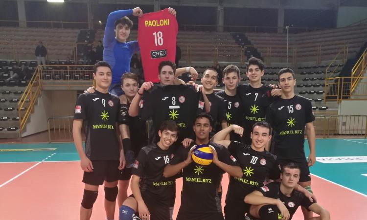 Serie D, prima vittoria per il Volley Macerata: Agugliano si arrende in 3 set