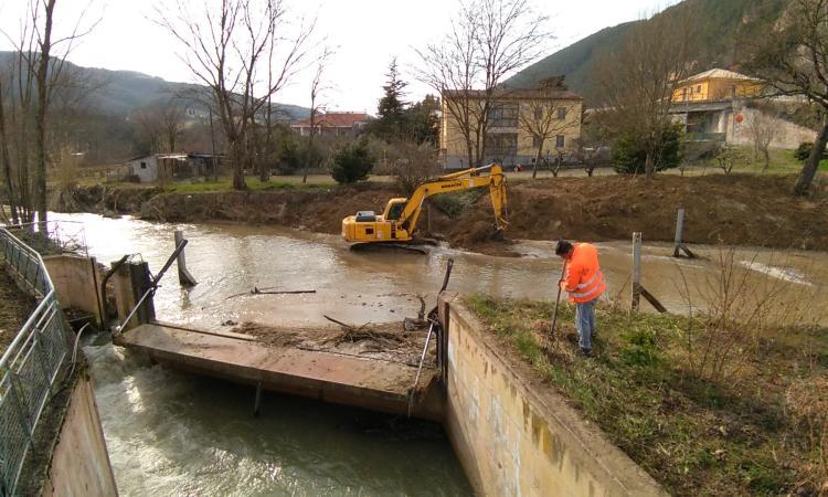 Riduzione del rischio idraulico:  per i fiumi Chienti e Potenza oltre 5 milioni nel programma triennale della Regione