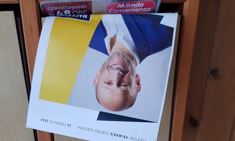 Macerata, Ricotta e la strategia per vincere le primarie: pubblicità sui social e nelle cassette postali