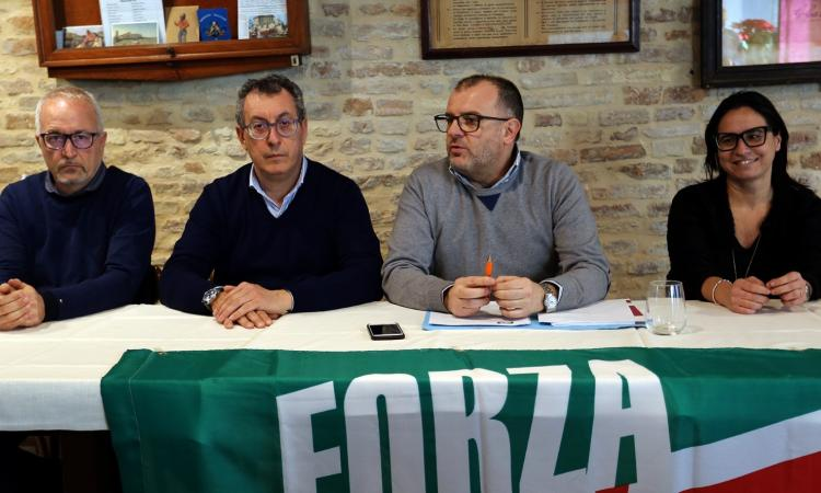 """Macerata, Forza Italia presenta il programma: """"Non saremo noi a spaccare la coalizione"""""""
