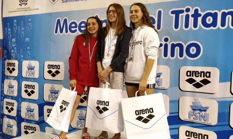Civitanova, nuoto: l'Ippocampo si aggiudica il 7° posto al 18° Meeting del Titano presso San Marino