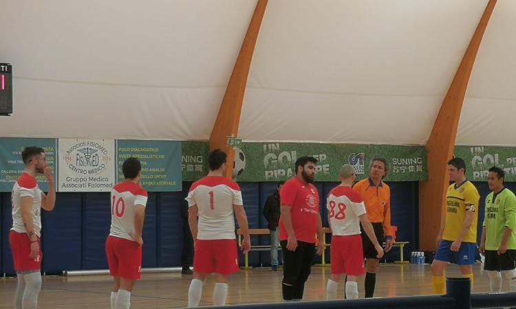 Calcio a 5, nel campionato Csi: il Borgosso viene battuto dal Grottaccia con un pirotecnico 9-8