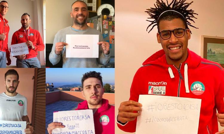Coronavirus, la Pallavolo Macerata si unisce alla raccolta fondi #NoiSiamoLeMarche