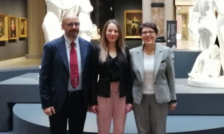 Unicam, una dottoranda sul podio per il premio internazionale dei giovani giuristi