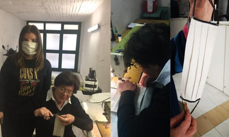 A 84 anni rispolvera la macchina da cucito per creare mascherine: la storia di Filomena Pompei