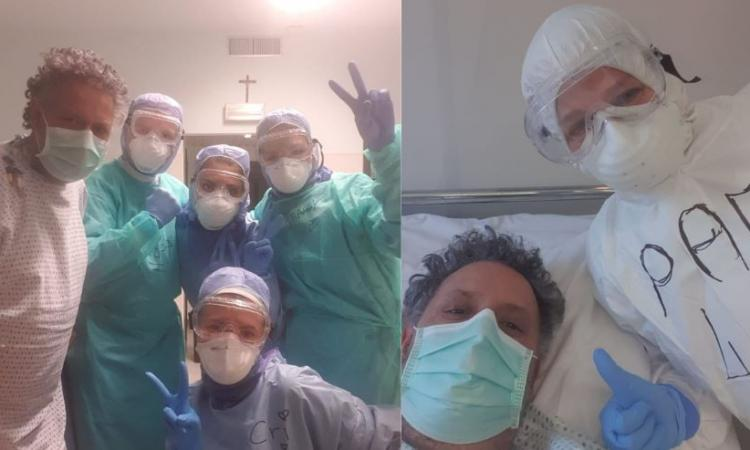 """Coronavirus, """"sono rinato una seconda volta"""", le prime parole di Laerte Tombesi: intubato per 4 giorni"""
