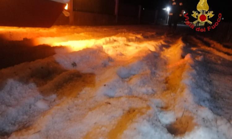Nubifragi e forti grandinate si abbattono sul Maceratese nella notte (FOTO)