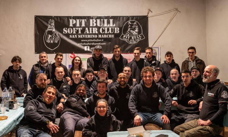 San Severino, torna in azione il club Pit Bull Soft Air: ripartono gli allenamenti in totale sicurezza