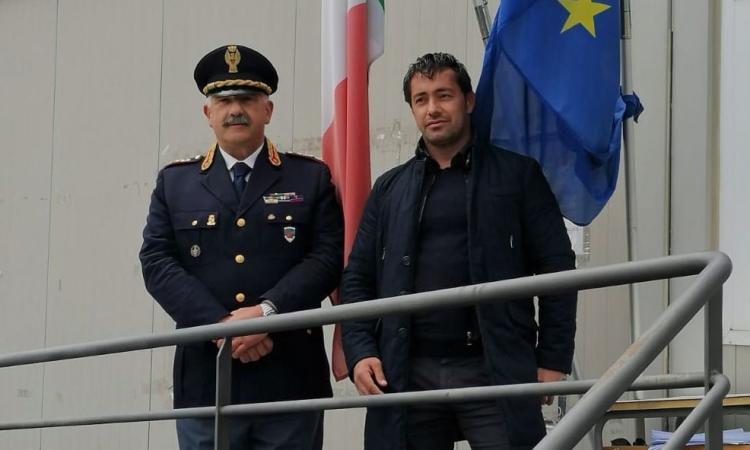 Pieve Torina, il vice questore Andrea Innocenzi va in pensione: il saluto del sindaco Gentilucci