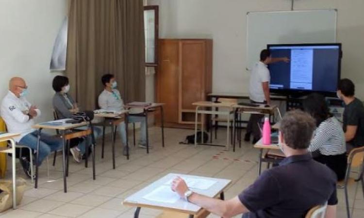 """Maturità 2020, esami in tutta sicurezza per 51 ragazzi e ragazze dell'IPSIA """"R. Frau"""" (FOTO)"""
