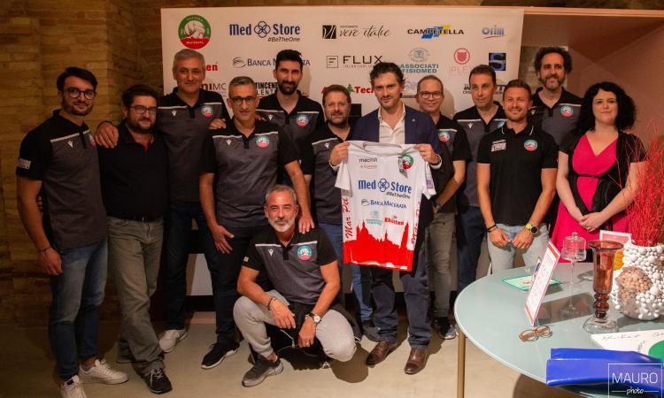 Volley, Med Store e Pallavolo Macerata unite verso il prossimo campionato di serie A3