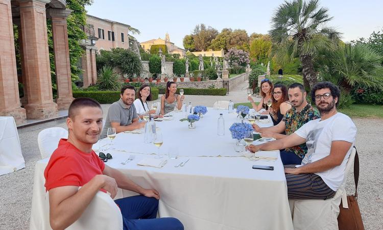 Potenza Picena, progetto #cittàmarinARA: i food-blogger si riuniscono a Villa Buonaccorsi
