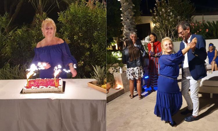 Lady Manola Gironacci festeggia 60 anni: balli a bordo piscina e vecchie fiamme che ritornano