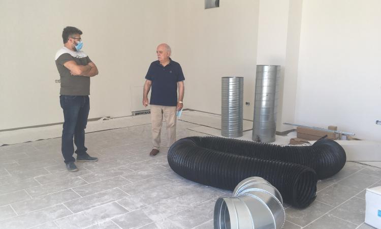"""Recanati, ampliamento dell'Itis """"Mattei"""": lavori in via di ultimazione"""