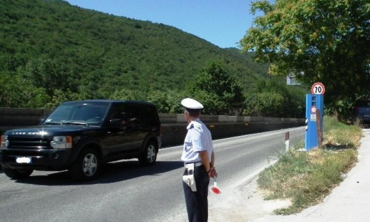 San Severino, aumentano i controlli della velocità sulle strade urbane