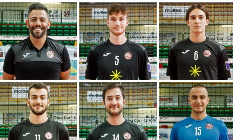 Paoloni Macerata, ai saluti 6 protagonisti della scorsa stagione