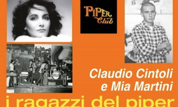"""Porto Recanati, dall'11 luglio la mostra sui """"ragazzi del Piper"""" Claudio Cintoli e Mia Martini"""
