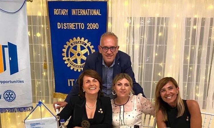 Rotary Club Civitanova, in visita la governatrice Rossella Piccirilli: confronto anche con Ciarapica