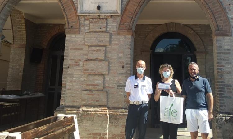 Ripe San Ginesio, donate 200 mascherine al Comune