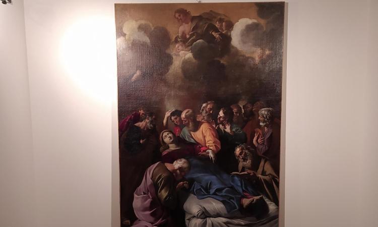 Macerata, Palazzo Ricci: via al restyling del museo. Restaurato il dipinto Transito della Vergine