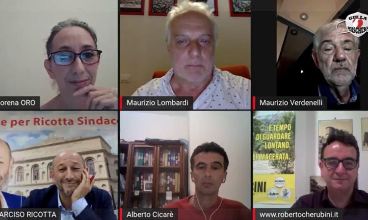 """""""Giù la Maschera"""", i candidati sindaci Ricotta,Cicarè e Cherubini infiammano il confronto: boom di interazioni (VIDEO)"""