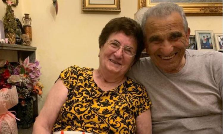 Ussita, nozze di diamante per Sante Nori e Maria Capuzi: da 60 anni insieme