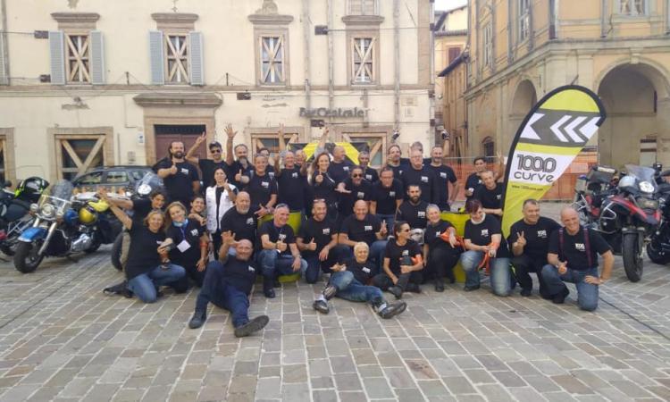 Camerino, arriva la 1000 curve: motociclisti da tutta Italia in piazza Cavour