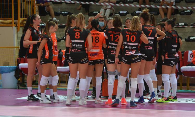 A2, buona la prima per la Cbf Balducci: Itas Città Fiera Martignacco sconfitta in 3 set