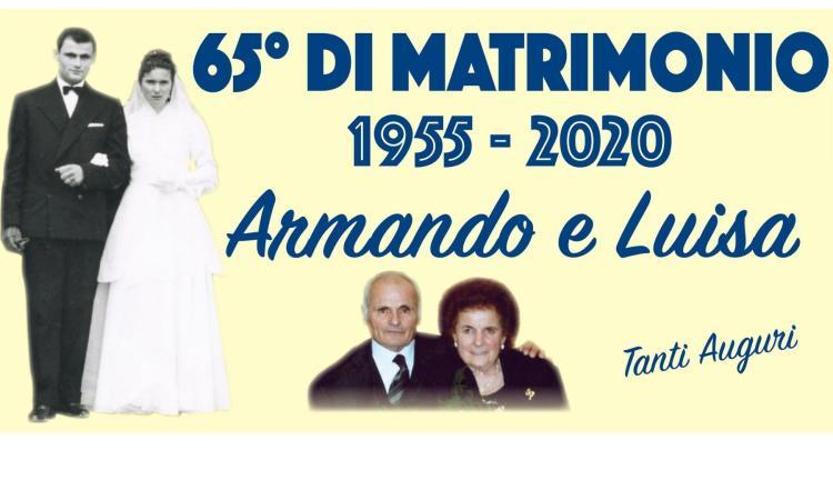 Appignano, Armando e Luisa festeggiano 65 anni di matrimonio