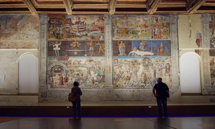 La luce di iGuzzini illuminerà gli affascinanti affreschi di Palazzo Schifanoia a Ferrara (VIDEO)