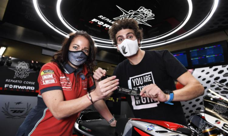 Moto 2, ufficiale: Lorenzo Baldassarri passa alla MV Agusta