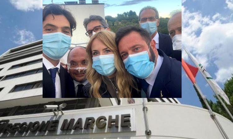 Ufficializzata la Giunta Acquaroli: Saltamartini confermato alla sanità, Latini unica donna