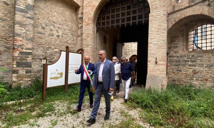 Commissario Straordinario Legnini a Caldarola: confronto sullo stato della ricostruzione