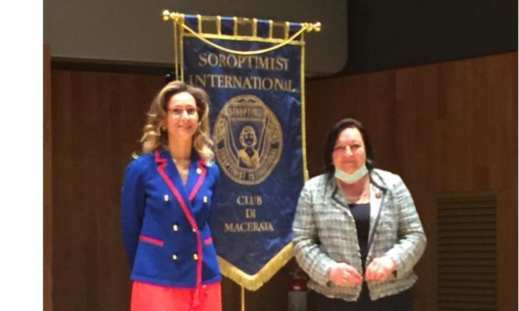 Passaggio di consegne al Soroptimist Club Macerata: Maria Leonori nuova presidente