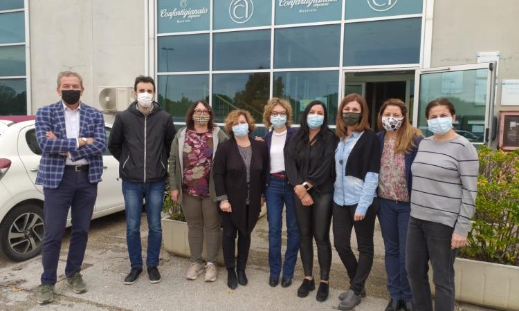 Confartigianato, la sede di Corridonia si rafforza: un nuovo team per far fronte all'emergenza