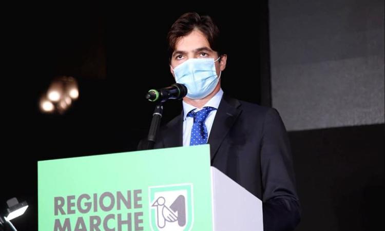 """Marche a rischio 'zona rossa', Acquaroli: """"azzardato riaprire le scuole superiori anche al 50%"""""""
