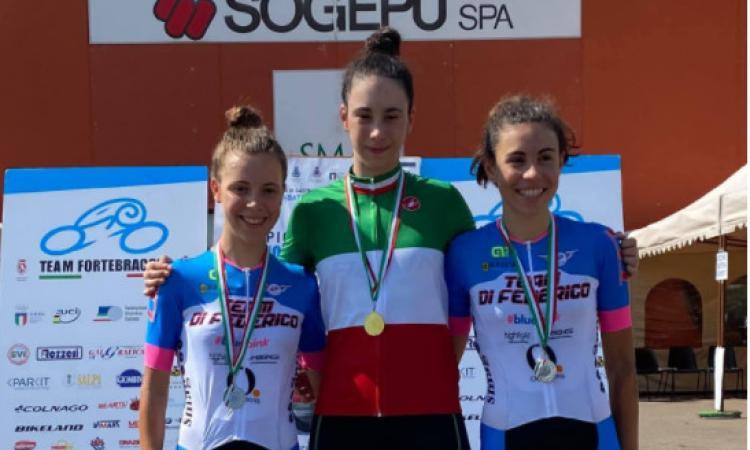 Corridonia, la giovane ciclista Eleonora Ciabocco chiamata dal ct Davide Cassani per uno stage