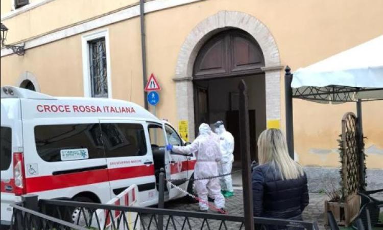 """Casa di riposo San Severino: scatta il piano per salvare dal contagio i 16 ospiti """"non"""" positivi"""