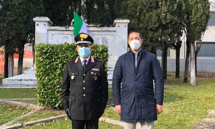 Pieve Torina, Roselli lascia il comando dei Carabinieri Forestali dopo 23 anni di servizio