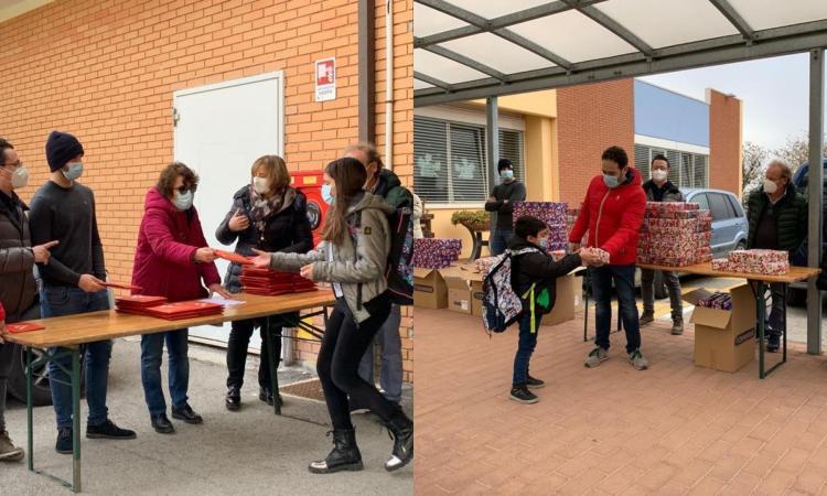 Montefano, doni per gli alunni di tutte le scuole: la sorpresa dell'Amministrazione Comunale