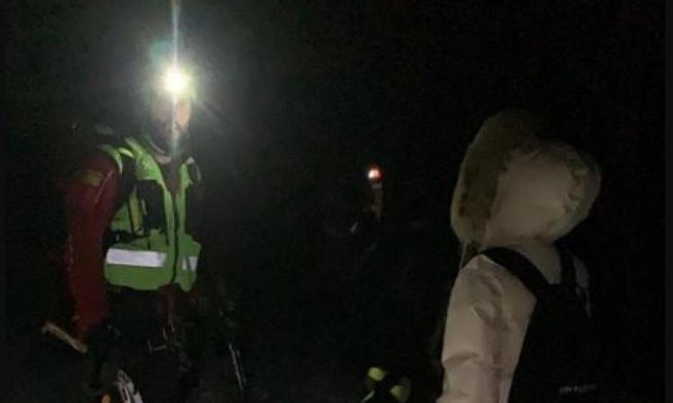 Perdono l'orientamento sul Monte Amandola: recuperate due escursioniste