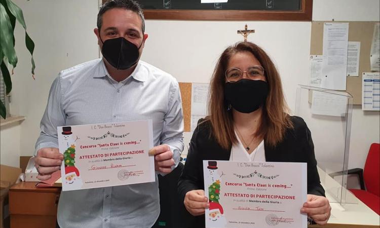 """""""Santa Claus is coming…"""", gli alunni dell'I.C. 'Don Bosco' di Tolentino colorano il Natale"""