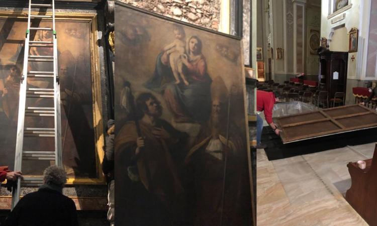 """San Severino, il """"Pomarancio"""" torna a casa: al via i lavori di restauro e recupero delle cornice"""