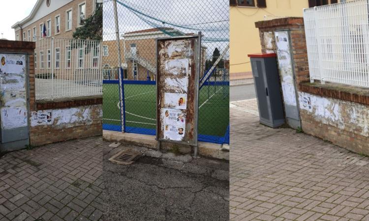 Chiesanuova, manifesti funebri strappati: ora si cercano i vandali