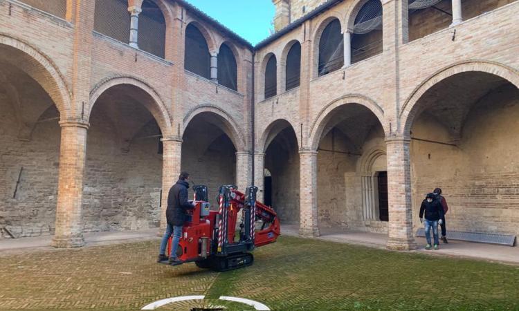 San Severino, al via restyling del chiostro di Castello al Monte: stanziati 70mila euro