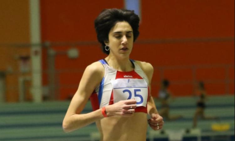Eleonora Vandi migliora di oltre dieci secondi il record regionale nei 3000 metri