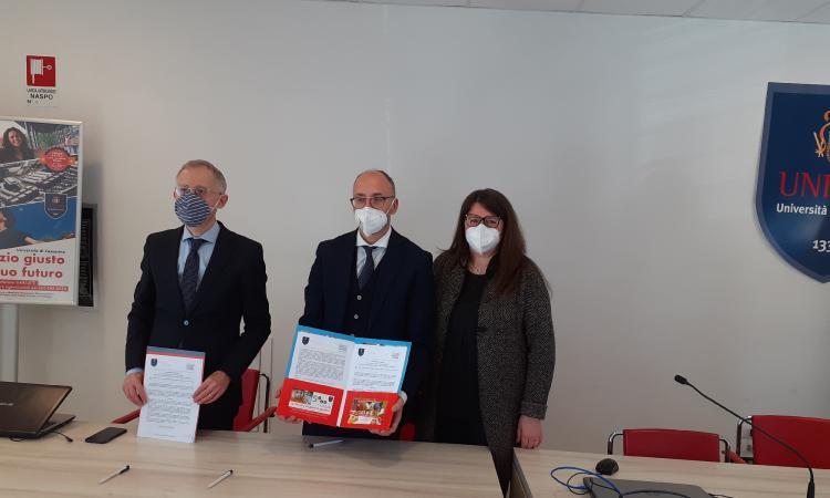 Unicam, rinnovate le convenzioni con i Licei e con l'Istituto Tecnico Antinori di Camerino